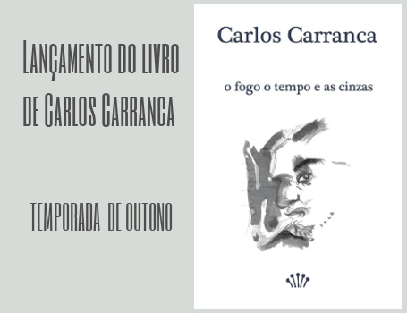Carlos Carranca lança livro no CCS