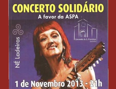 Coro no concerto de Né Ladeiras