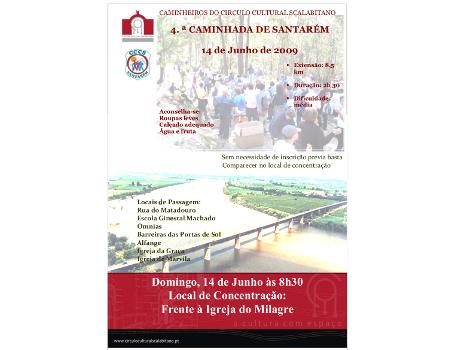 4ª Caminhada de Santarém