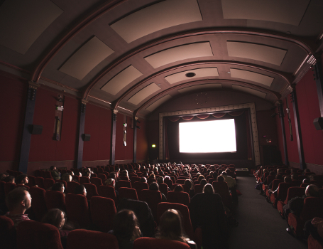 O Cinema no Teatro Taborda