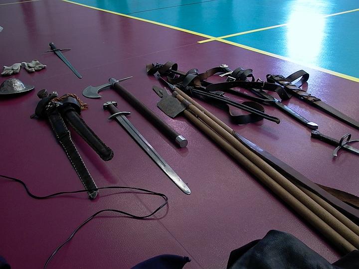 Curso de Espada Medieval