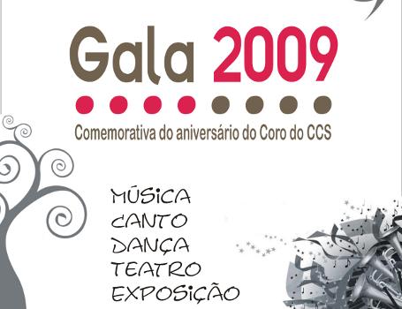 Gala do Coro no Teatro Taborda