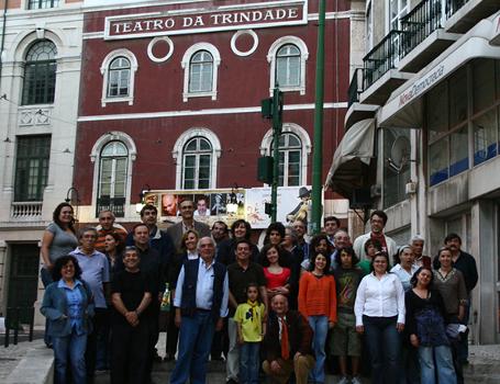 """Teatro da Trindade Rendido a """"Santareno"""""""