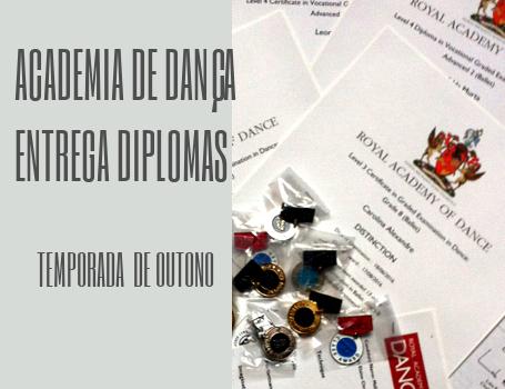 Ballet – Festa de entrega de diplomas