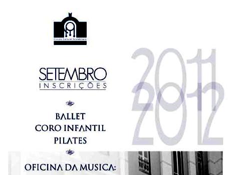 Inscrições 2011 – 2012