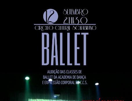 Ballet Audição das Classes