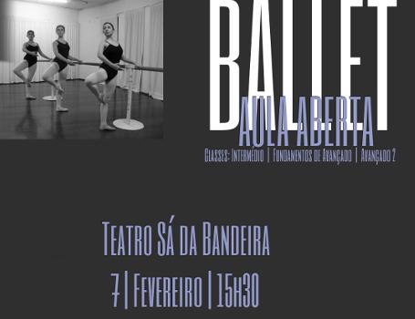 Ballet – Aula Aberta no TSB