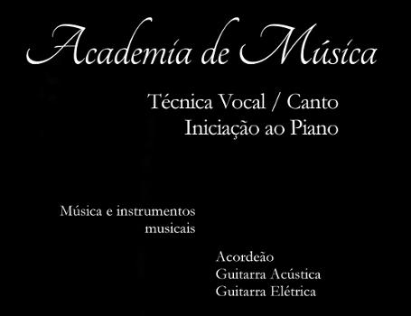 Academia de Música inscrições