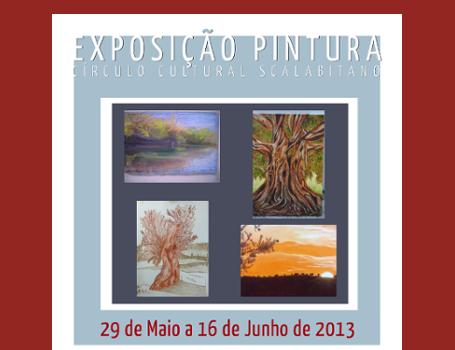 Curso de Pintura Exposição