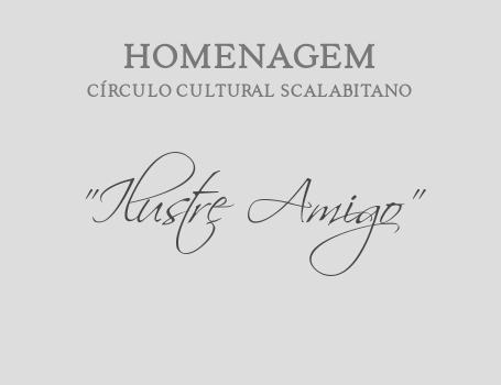 """Homenagens """"Ilustre Amigo do Círculo"""""""