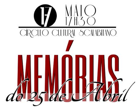 Memórias do 25 de Abril