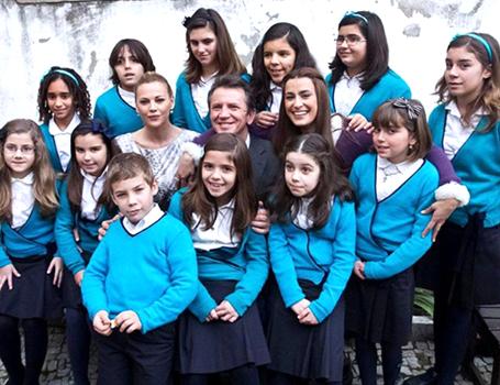 Coro Infantil do CCS participou em gravações