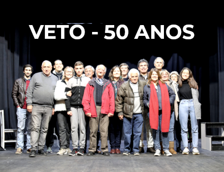 VETO – 50 ANOS