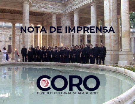 Coro do CCS participa em festival internacional em Itália