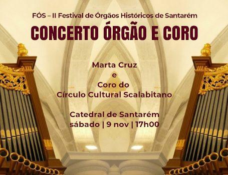Coro do CCS no II Festival de Órgão de Santarém