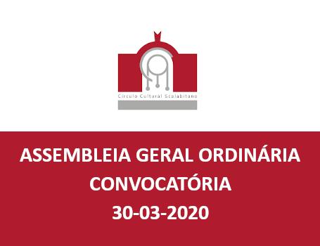 Convocatória Assembleia 30.03.2020