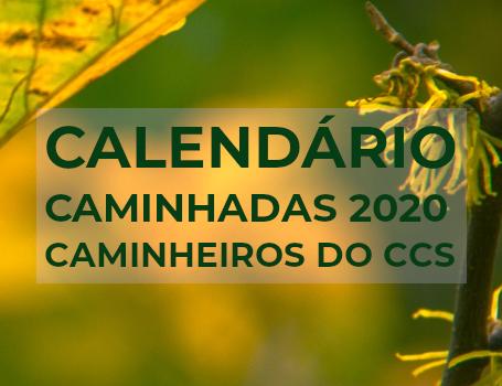 Calendário Caminhadas CCS
