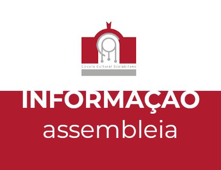 Desmarcação Assembleia de 30.03.2020