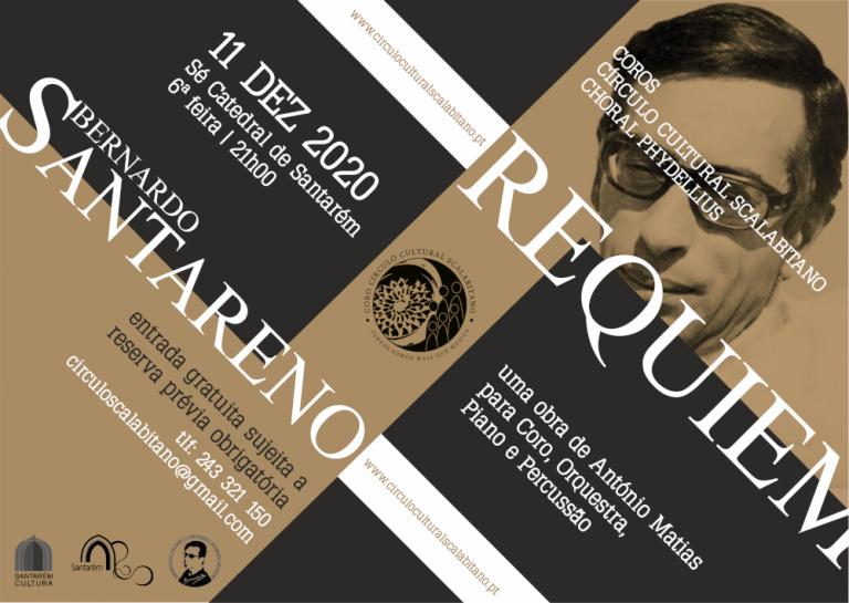 """Concerto de estreia do """"Requiem a Bernardo Santareno"""""""